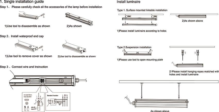 Linear Batten Wiring 1