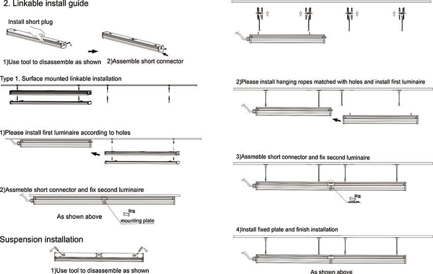 Linear Batten Wiring 2