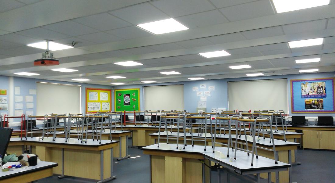 led school panel lighting